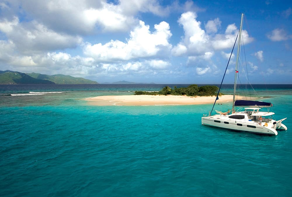 U.S. Virgin Islands Yacht Solution's Destination